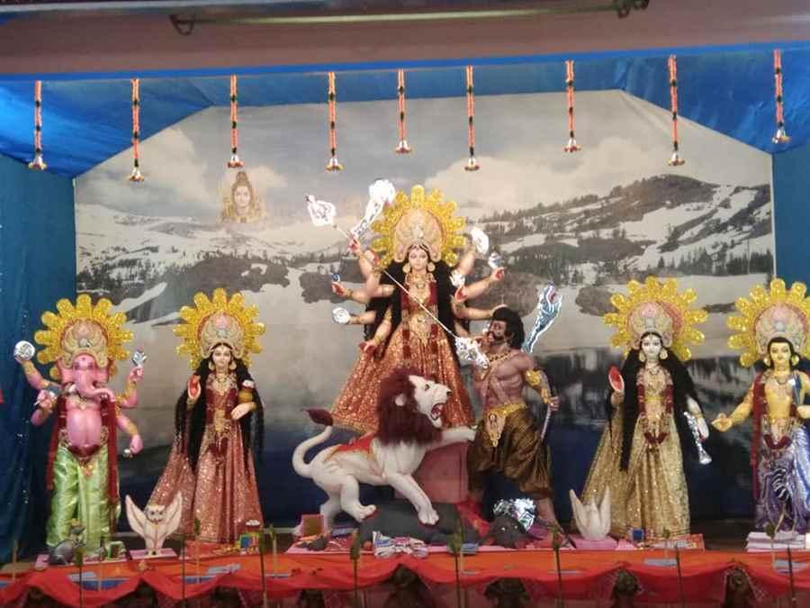 Tinsukia Puja Samiti, Modi Road