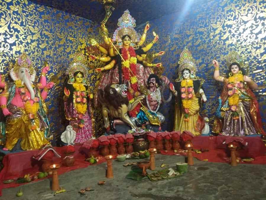 Sarbajanik Sri Sri Nepali Durga Puja Committee- IOC Gate