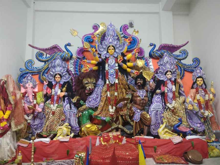 Sri Sri Sarbajanin Borpathar Kalibari Durga Puja