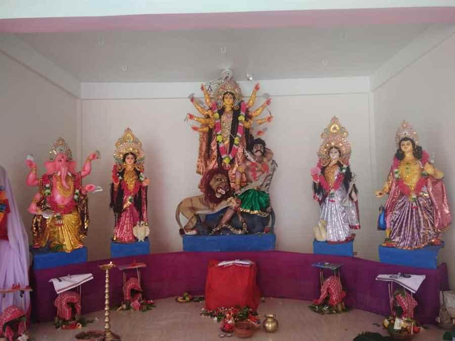 Guijan Kalibari Durga Puja