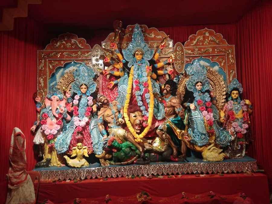 Borpathar Sarvajanik Durga Puja Samity- 2nd Best Protima