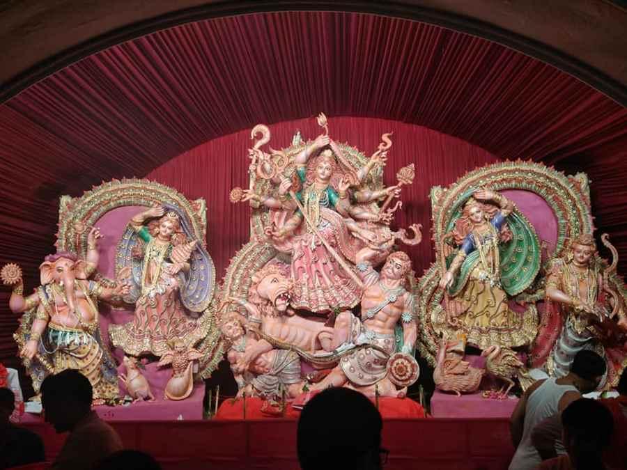 New Tinsukia Railway Station Durga Puja