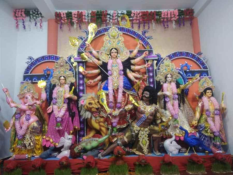 Sarbajanik Maa Durga Samiti - Panchmukhi Hanuman Mandir