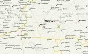 Abohar Map