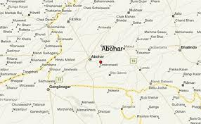 Abohar Map