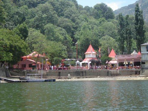 Naina Devi Temple in Bilaspur District