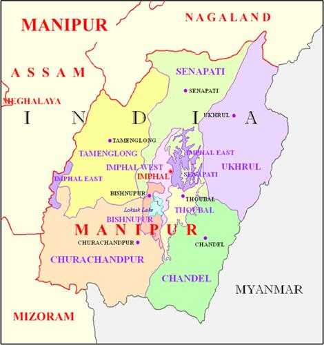 Geography of Imphal
