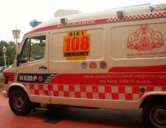 108 ambulance in thiruvananthapuram