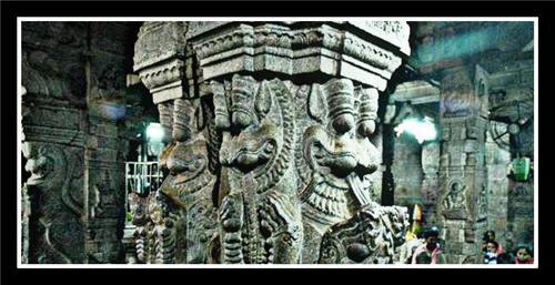 Mandapam in Tirupati temple