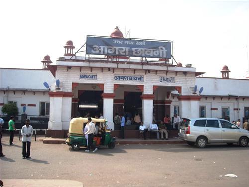 Railway Station Agra Cantt