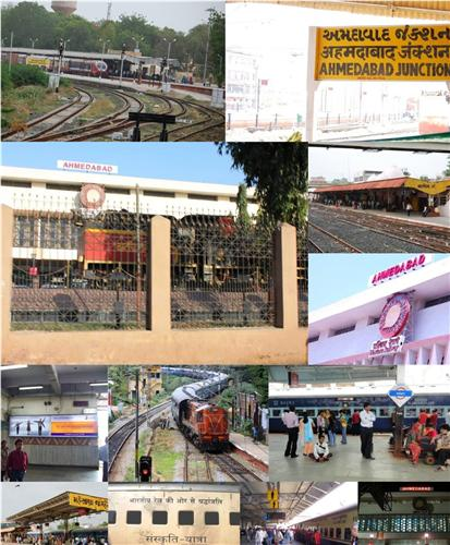 Railway Station in Ahmedabad