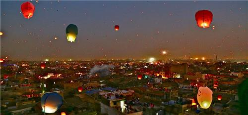 Vivid colors of Ahmedabad