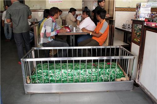 Sipping tea in close company of dead at Ahmedabad