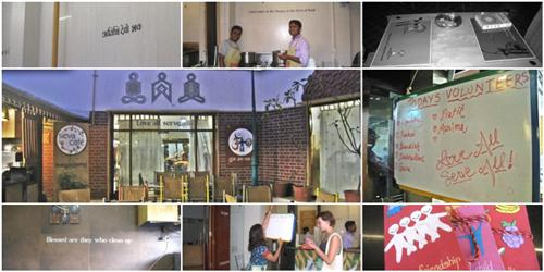 Seva Cafe in Ahmedabad serving humanity through food