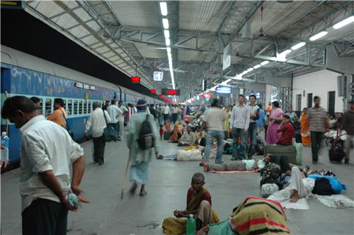 Time spent at Ahmedabad Railway station