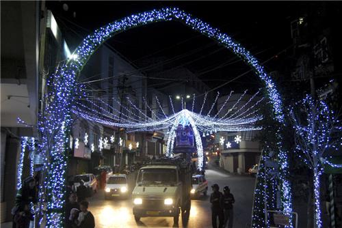 Christmas Eve in Aizawl