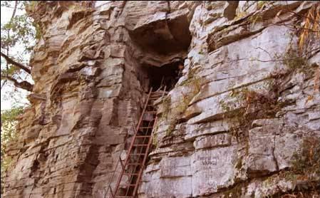 Caving in Aizawl