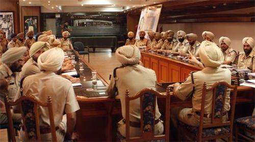 Police Force in Ajitgarh