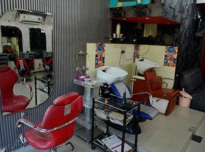 Inside Ananyas Hair and Beauty Salon