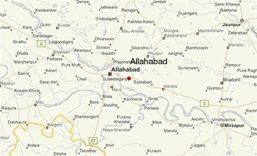 Geography of Allahabad