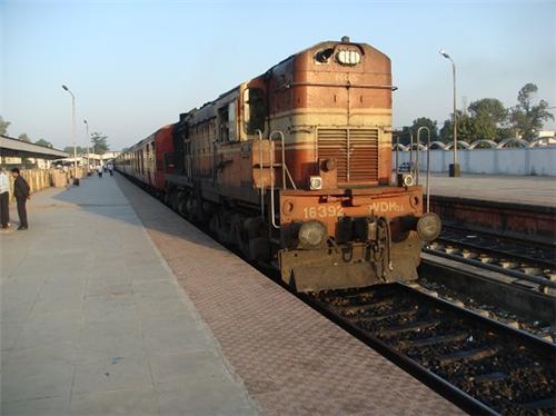 Allahabad-train