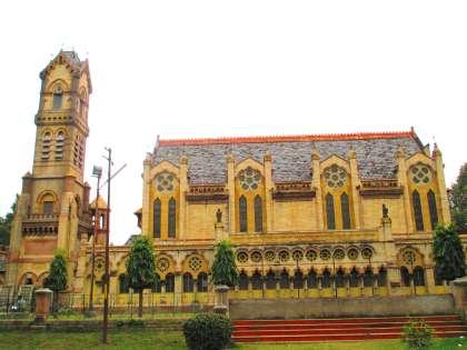 Thornhill Mayne Memorial Allahabad Location