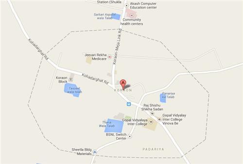 Koraon Allahabad Map
