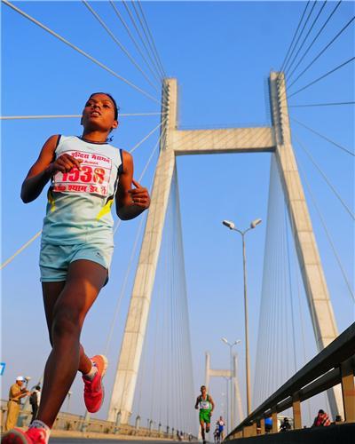 Marathon in Allahabad