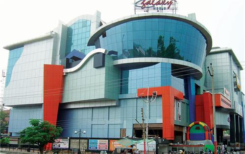 Modern Galaxy Shopping Mall in Ambala