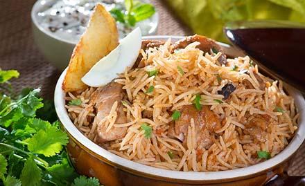 Mughlai Cuisine of Pyramid Cafe Lounge in Ambala