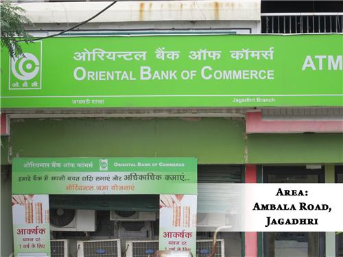 OBC Branches in Ambala