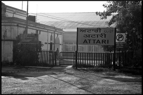 Railway Staion at Attari
