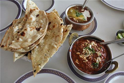 Breakfast during the Road Trip Amritsar to Srinagar