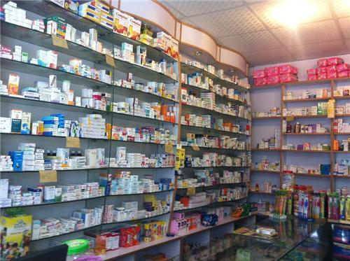 Chemist Selling Life Saving Drugs at Anand