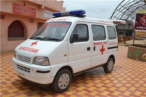 Life saving ambulance service available at Anand city