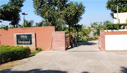Location of Neejanand Resort in Anand