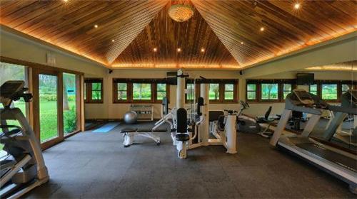Gymnasium Facility at Madhubhan Resort and Spa in Anand