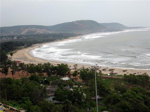 Top beaches in Andhra Pradesh