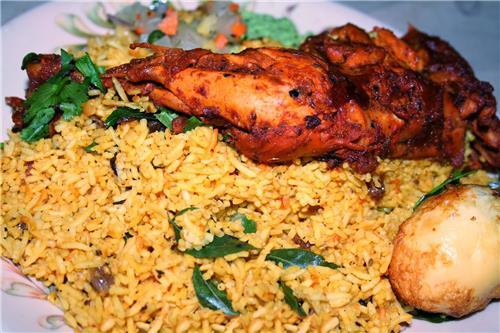 Non-vegetarian food in Andhra Pradesh