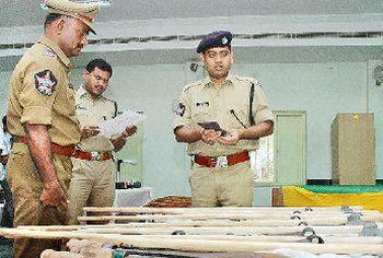 Police in Guntur