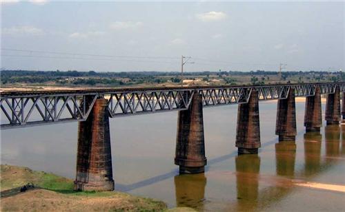 Damodar River in Asansol