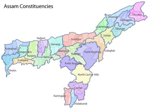 Assam Constituencies