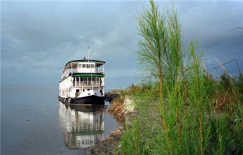 River cruise in Brahmaputra