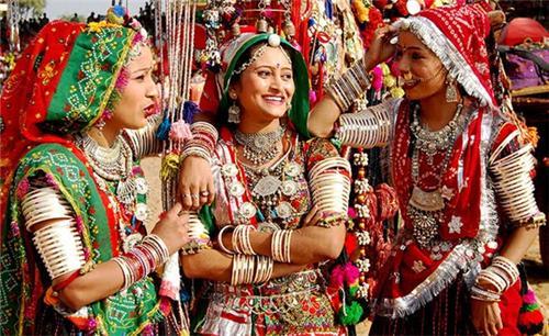 Dress Worn by Women in Baran