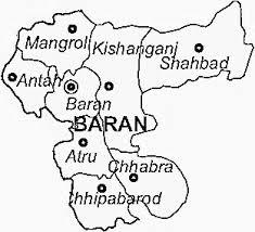 Map of Baran