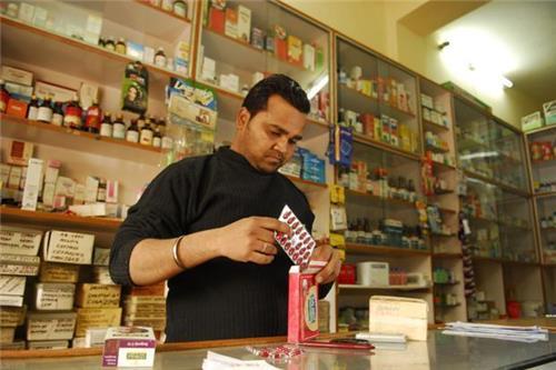 Famous medical store in Baripada