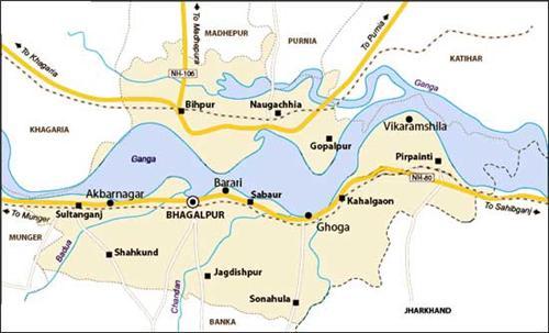 Geography of Bhagalpur