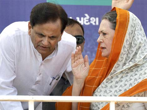 Ahmed Patel from Bharuch