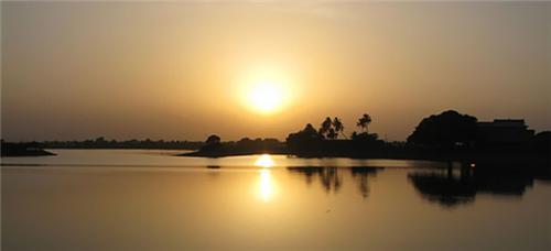 Gaurishankar lake in Bhavnagar
