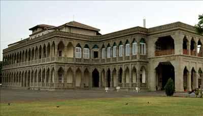 Nilambaug palace in Bhavnagar
